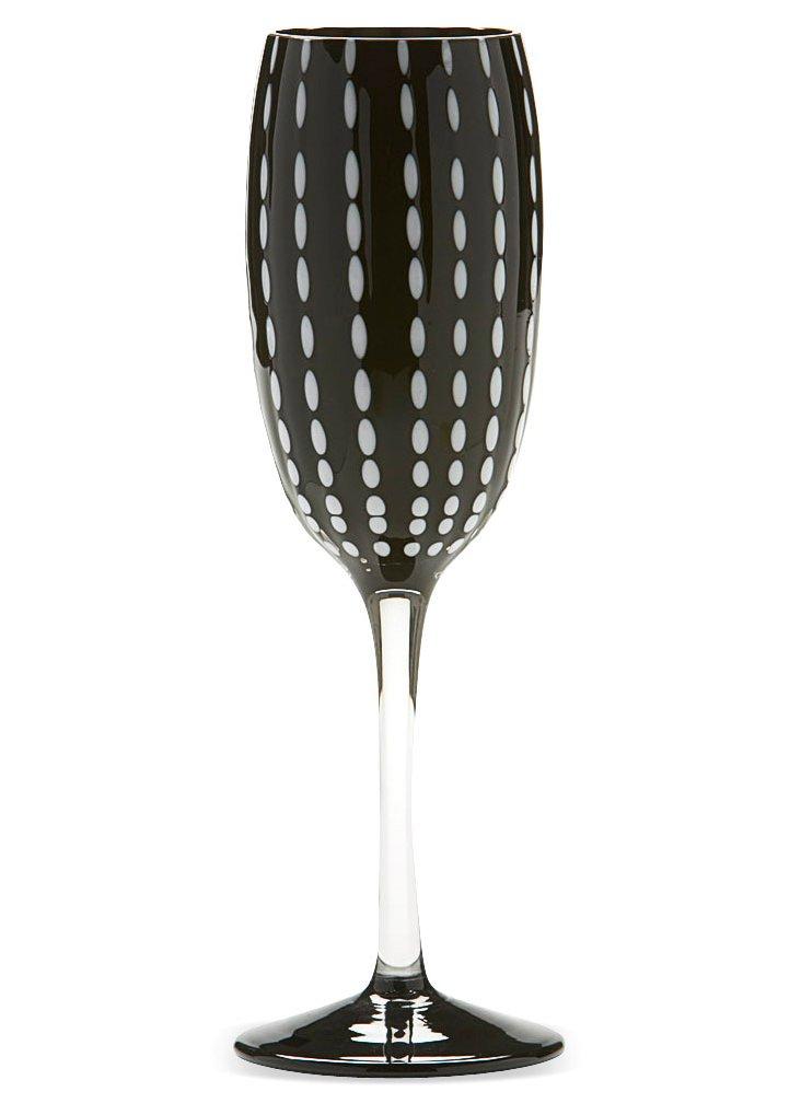 S/2 Perle Flutes, Black