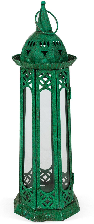 Green Moroccan Lantern, Large