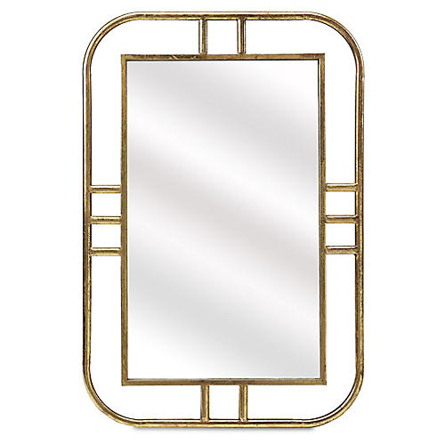 Eudora Wall Mirror, Gold