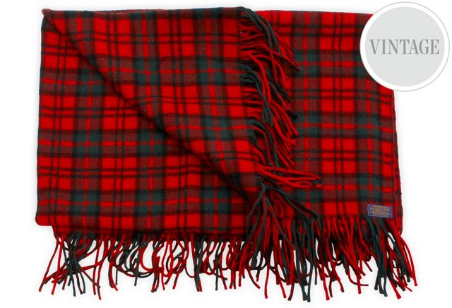 Tartan Pendleton Blanket
