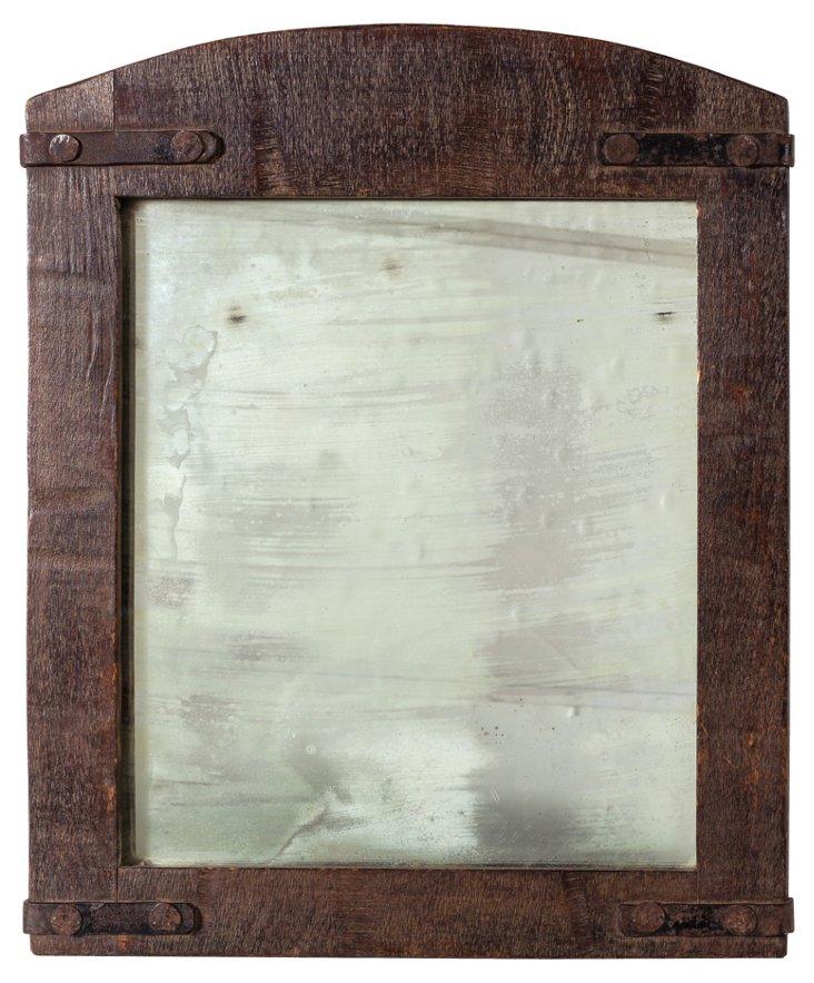 Monterey Old Wood Mirror