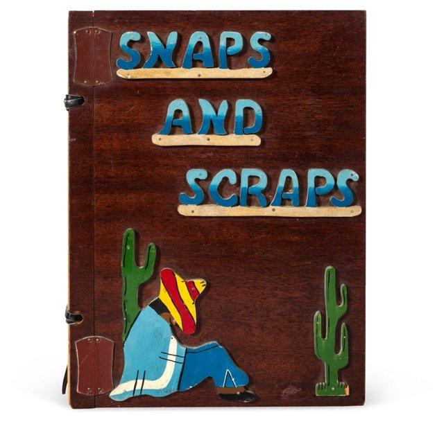 Snaps & Scraps Wood Photo Book