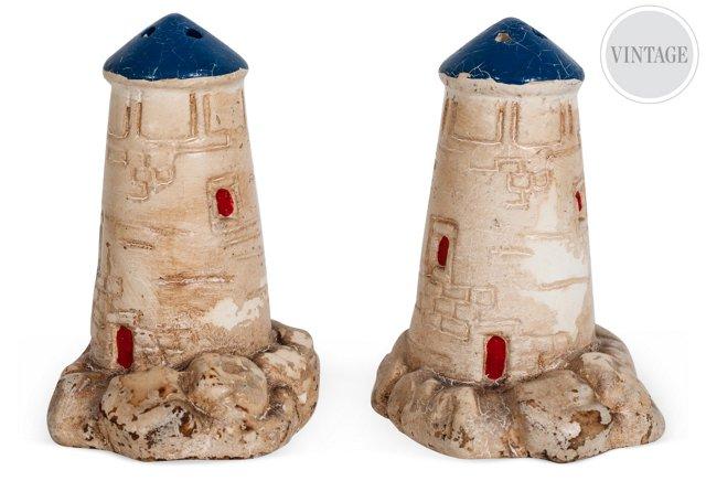 Lighthouse Salt & Pepper Shakers
