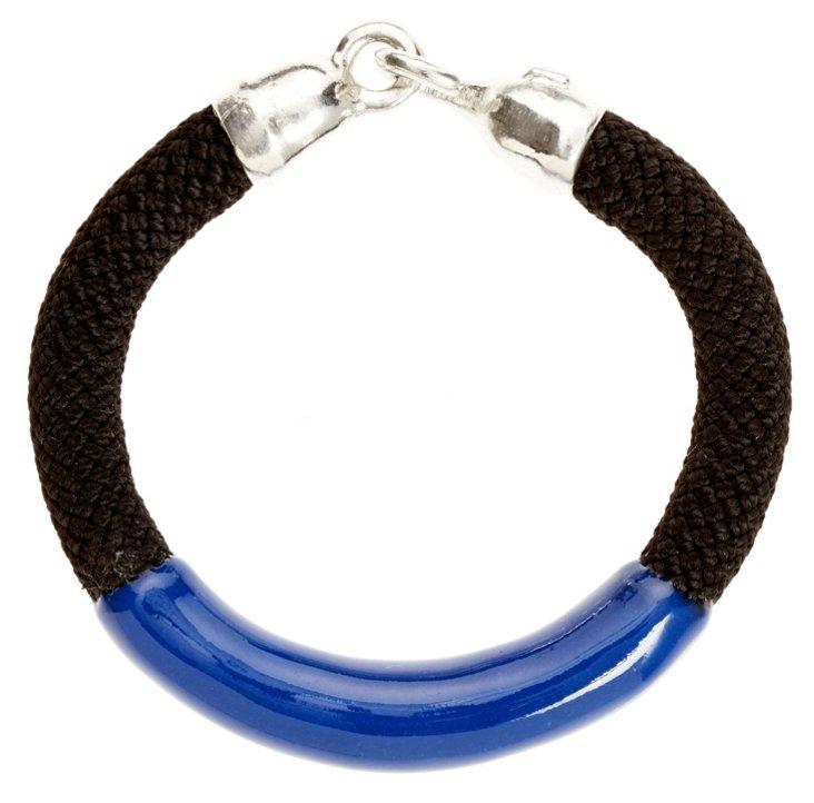 Annabelle Bracelet, Black/Blue