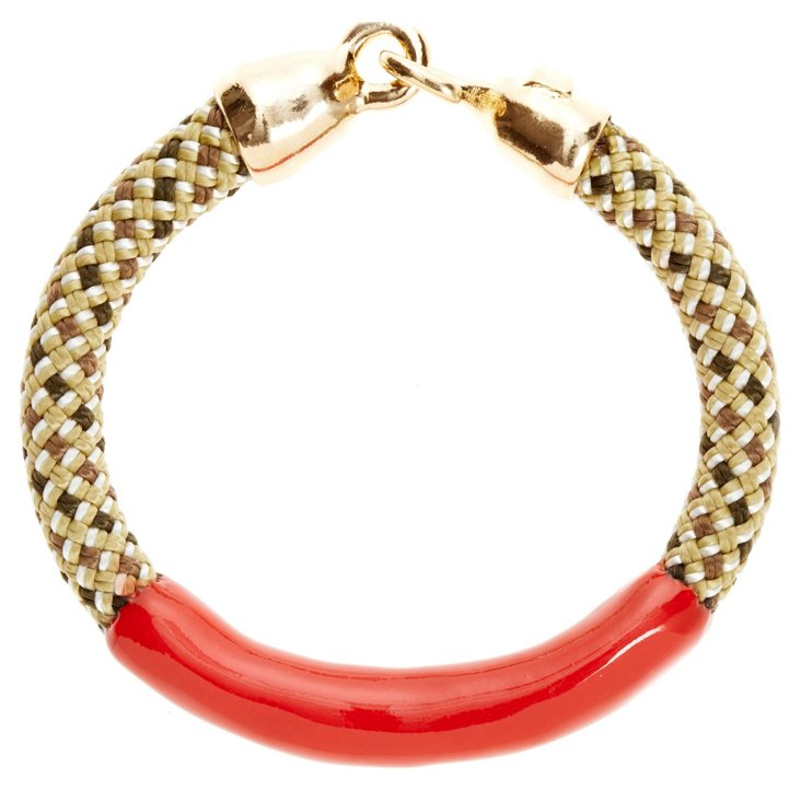 Annabelle Bracelet, Check/Red