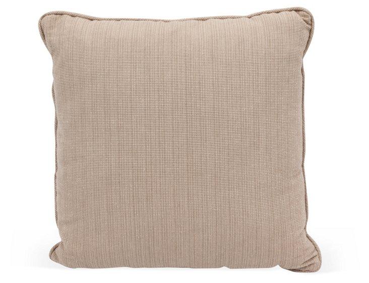 Taupe Linen Pillow
