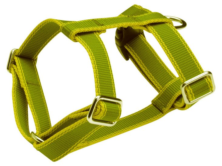 Stripe Hype Harness, Olive