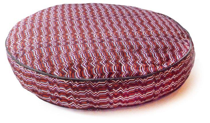 Wave Circle Bed, Charcoal