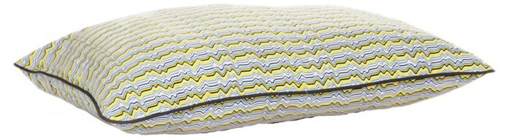 Wave Pillow Bed, Yellow
