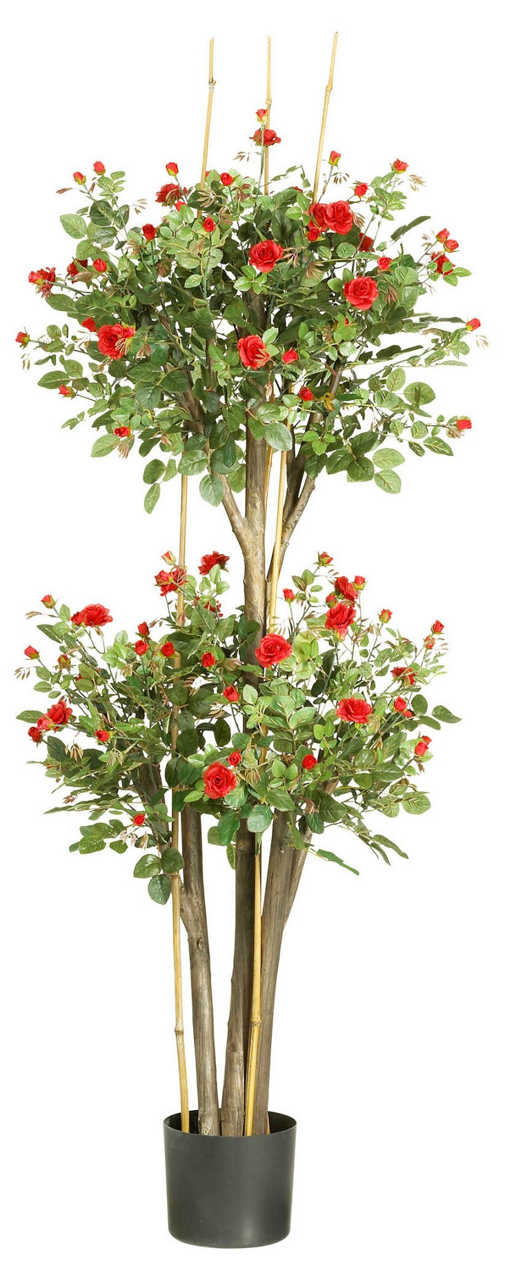 5' Rose Tree, Faux