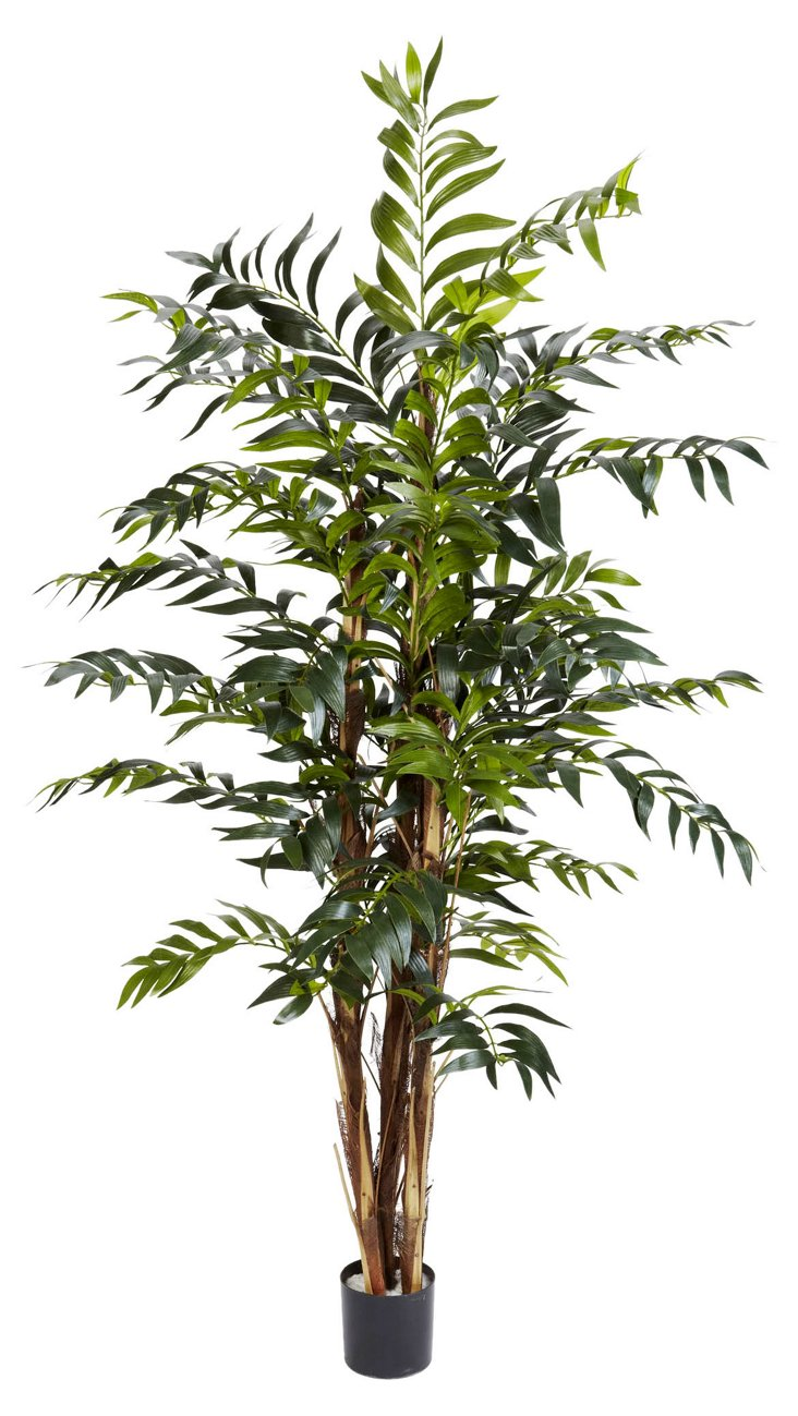 5' Bamboo Palm Tree, Faux