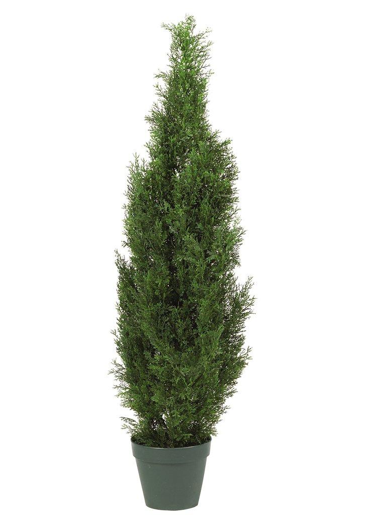 4' Cedar Tree, Faux