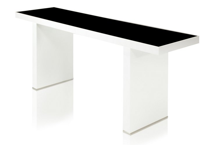 Mott Console Table, White