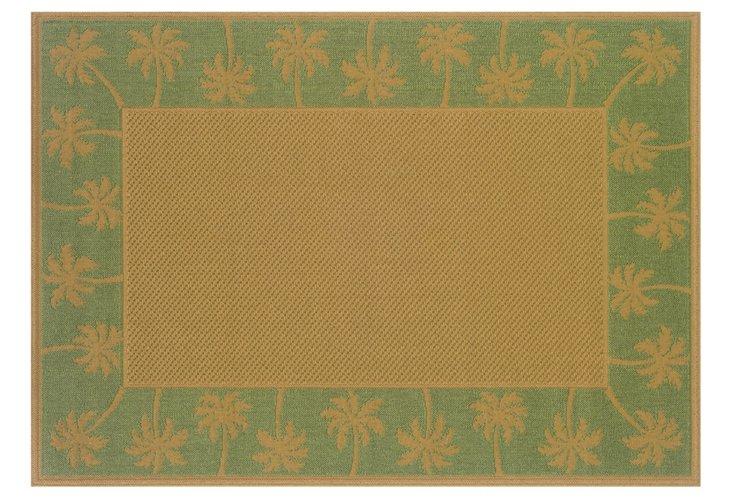 Honomu Outdoor Rug, Green