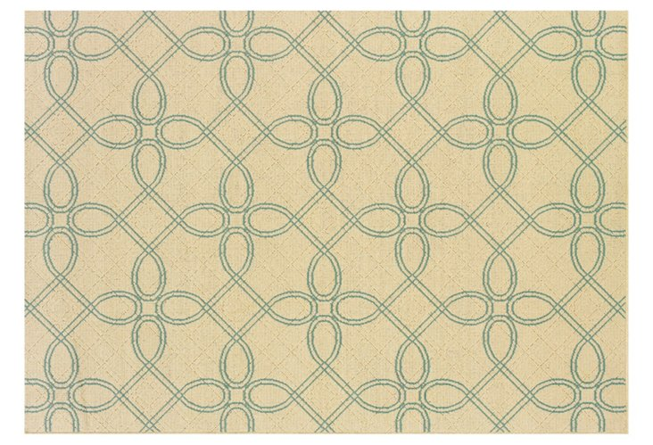 Gibson Outdoor Rug, Ivory