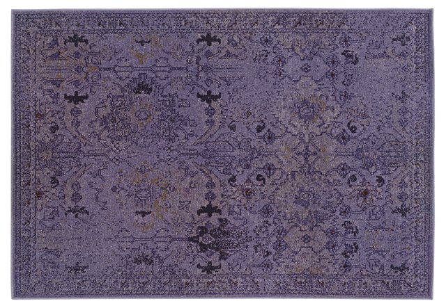 "1'10""x7'6"" Itasca Runner, Purple"
