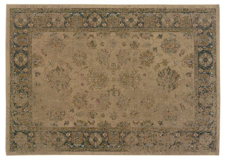 Ted Rug, Beige/Blue