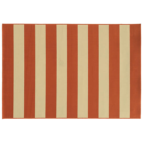 Bonds Outdoor Rug, Orange