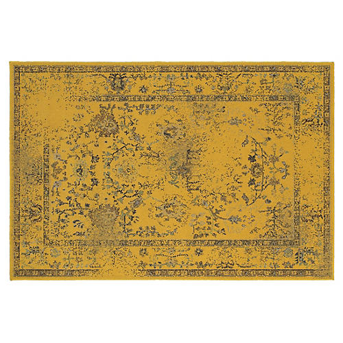 Jackson Rug, Gold/Yellow