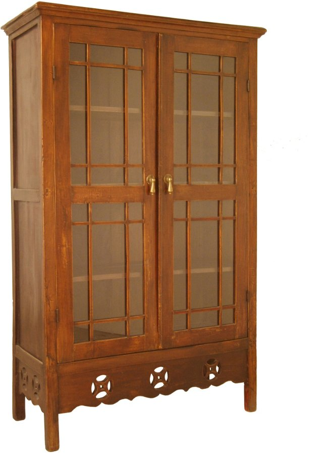 Colonial Glass Cabinet
