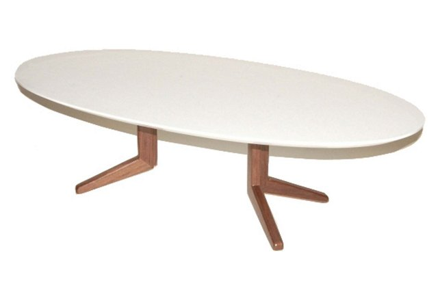 Angel Coffee Table, White