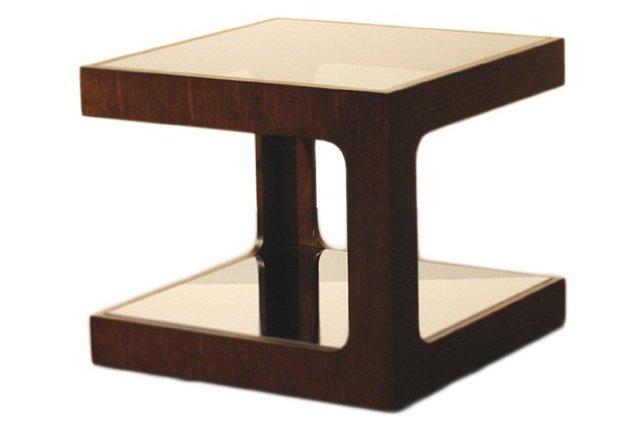 Simon Side Table, Espresso