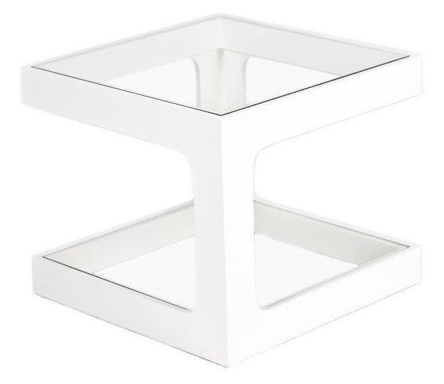 Simon Side Table, White