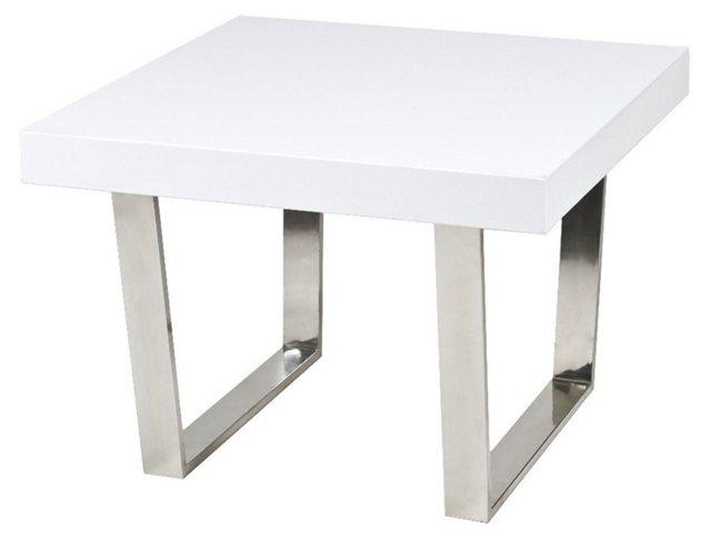 Sien Side Table, White