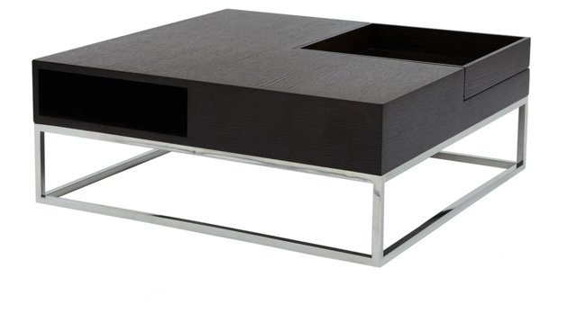 Udrina Coffee Table, Dark Espresso