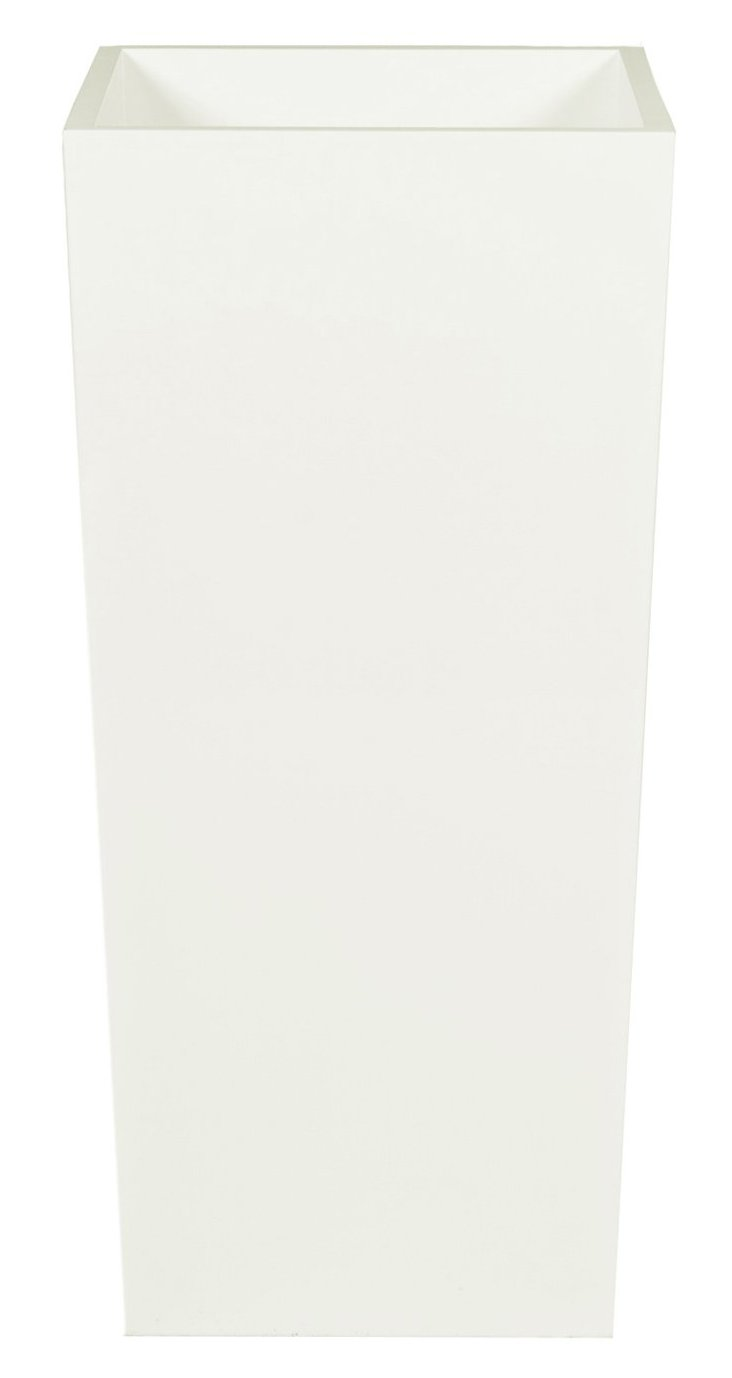 "32"" Galloway Planter, White"