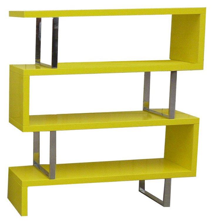 Santoni Bookshelf, Yellow