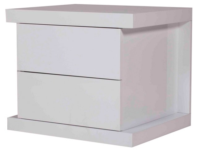 Hite Nightstand, White