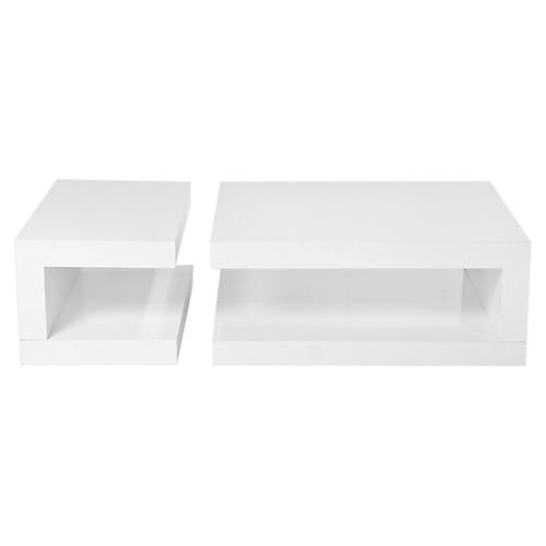 Wainwright Coffee Table, White