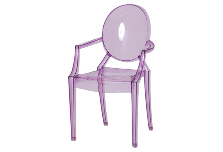 Set of 2 Bentley Chairs, Purple