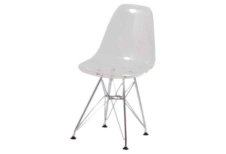 Donald Kid's Chair, Clear