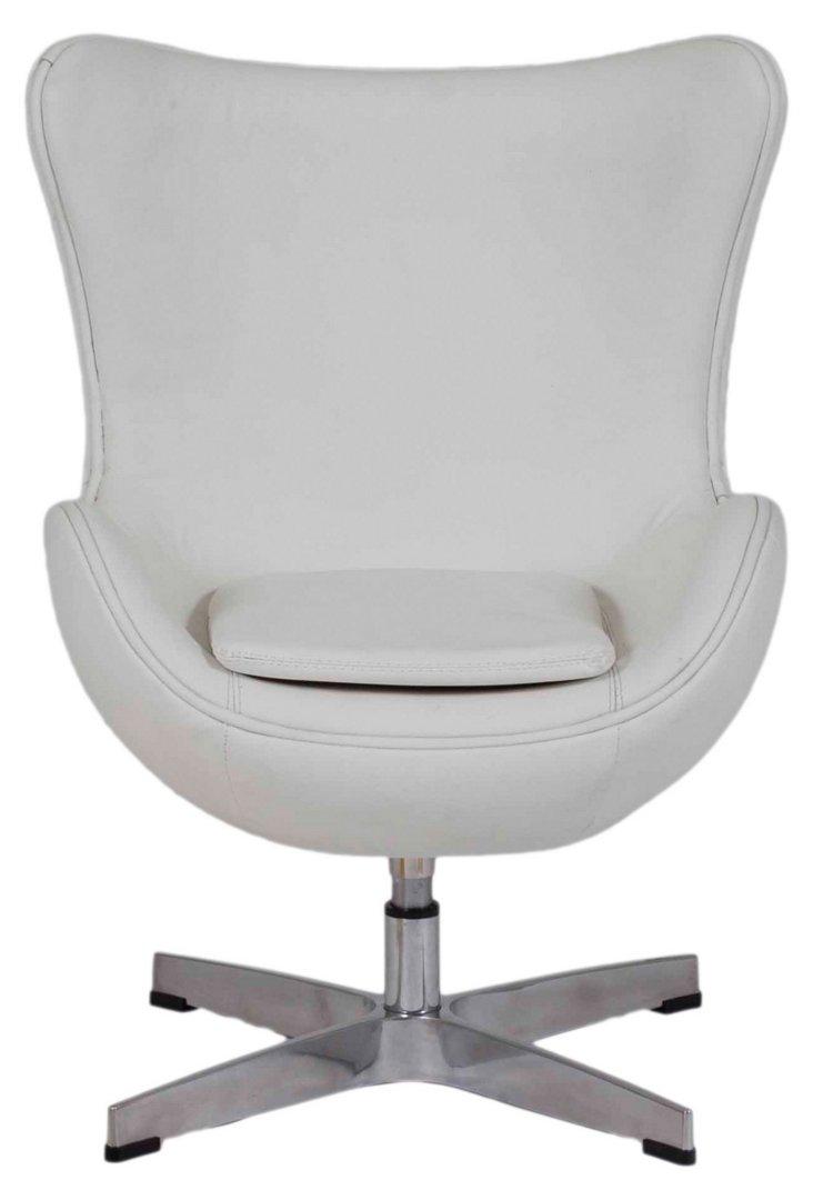Jetson Kid's Chair, White