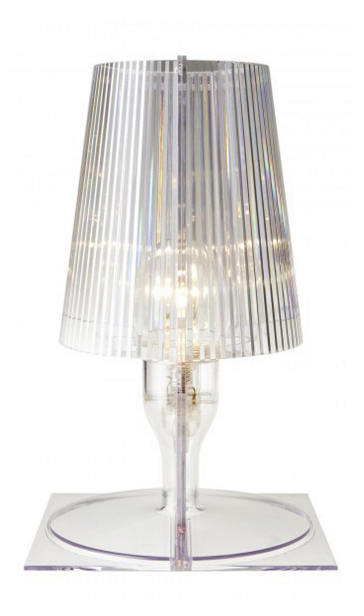 Kallie Table Lamp, Clear