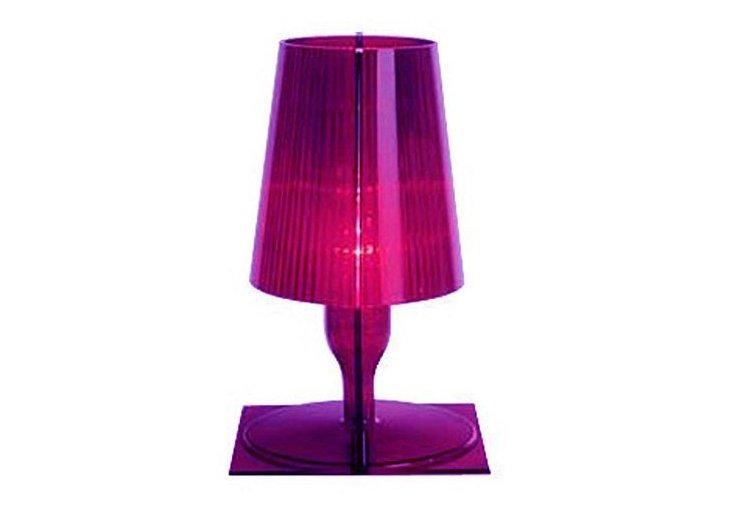 Kallie Table Lamp, Purple
