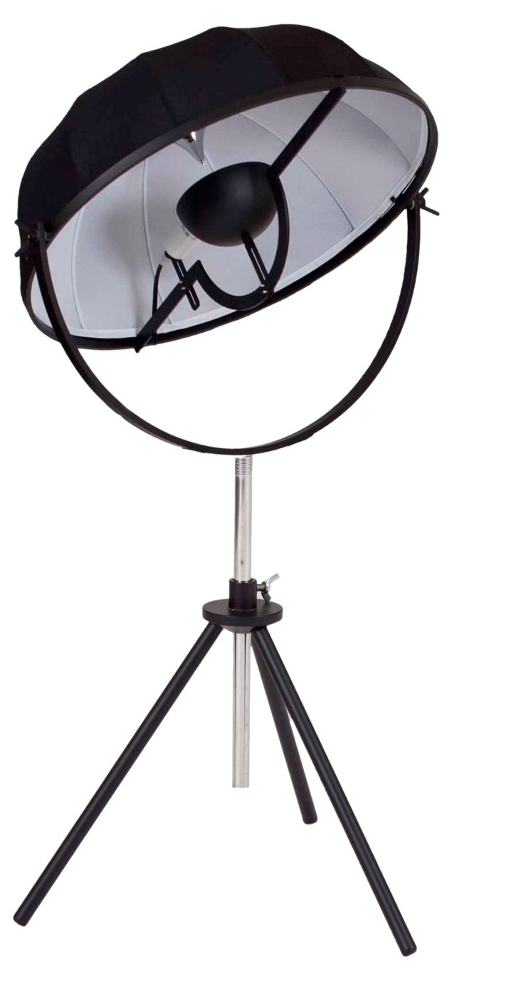Mary Table Lamp, Black