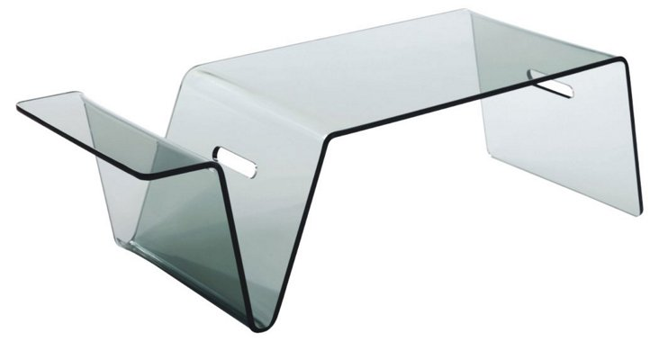 Sunshine Tray Table, Clear