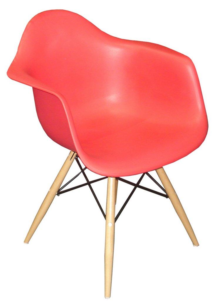 *IK Copenhagen Armchair, Red