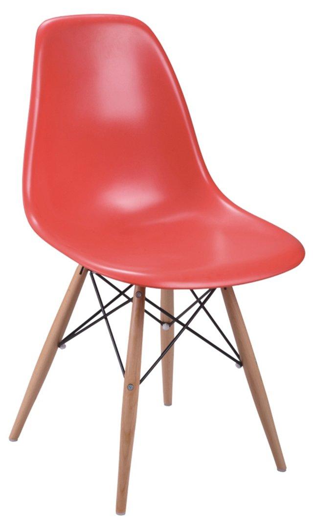 *IK Oslo Side Chair, Red