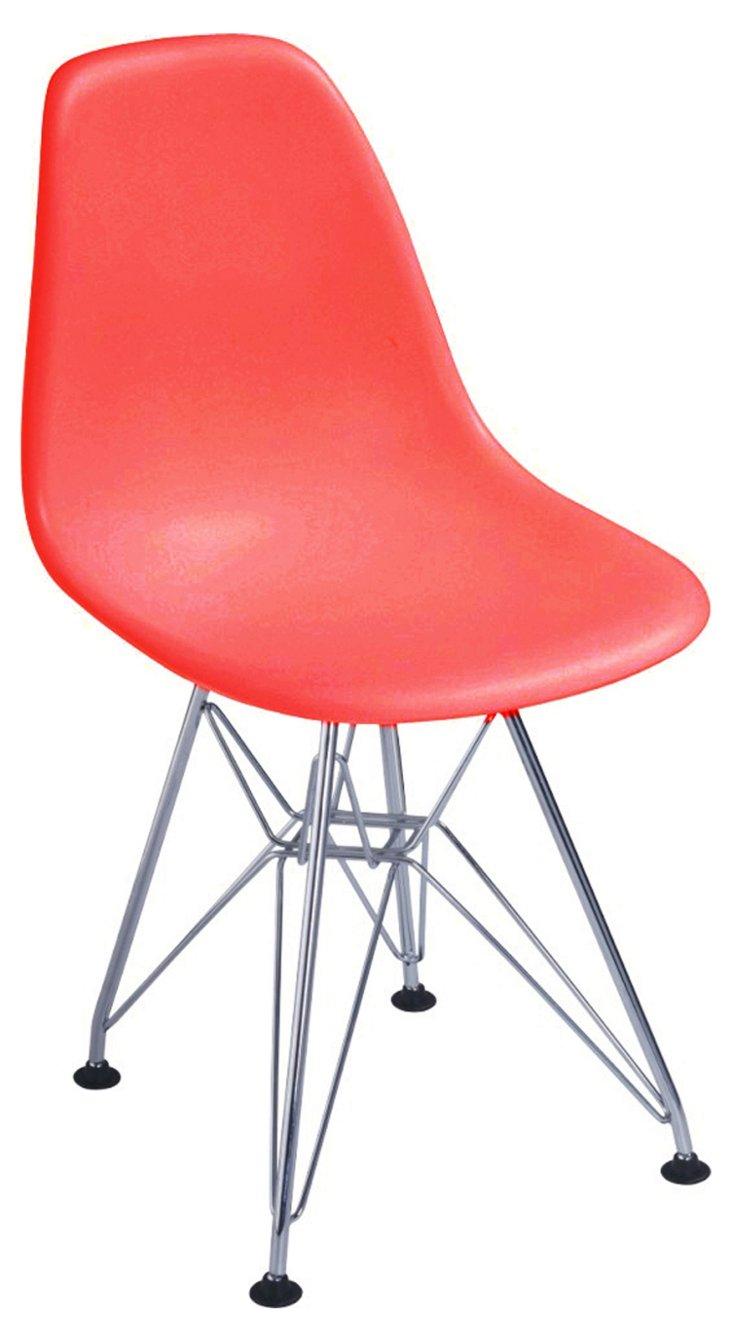 DNU, IK-Oslo Side Chair, Red