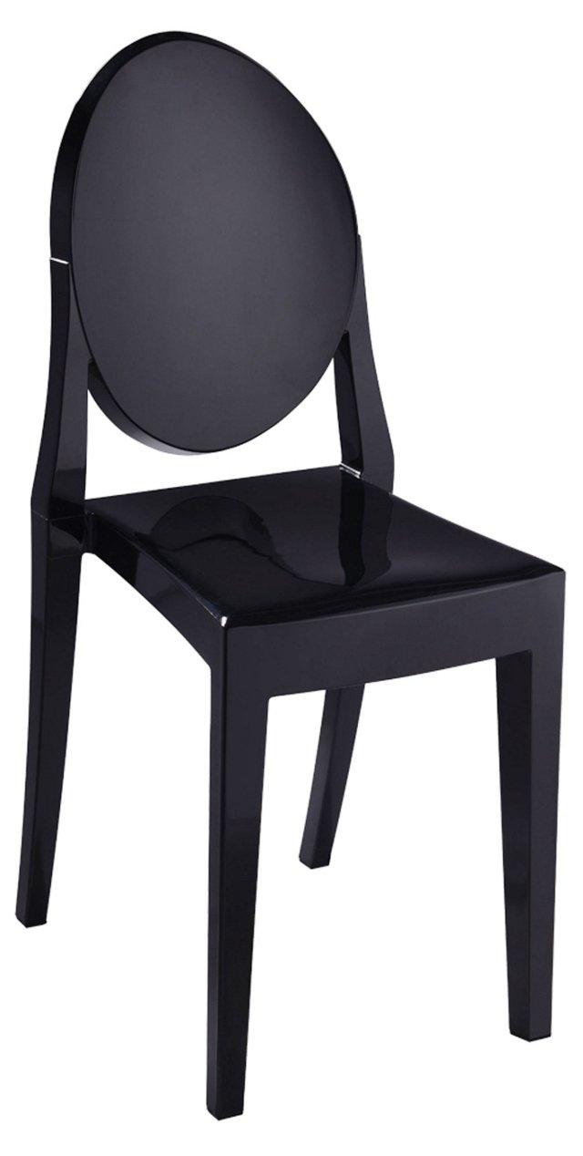 *IK Bilbao Dining Chair, Black