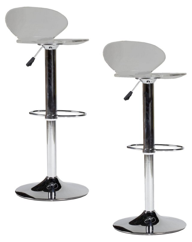 Gray Jane Barstool, Pair