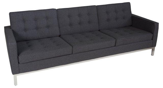 Florence Sofa, Charcoal