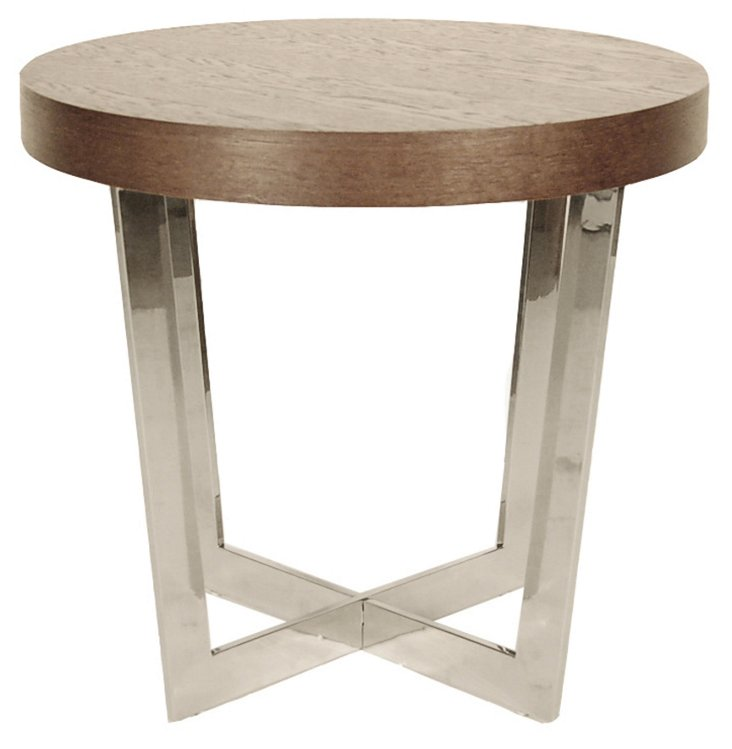 Oyster Side Table, Espresso
