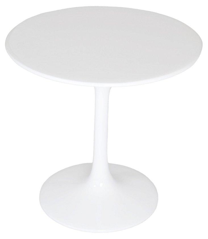 *IK Tulip Side Table, White