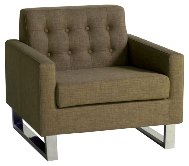 Sloan Sofa Chair, Wenge