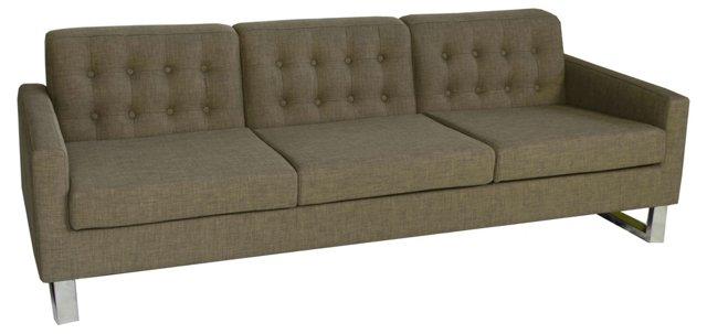 "Sloan 89"" Sofa, Wenge"